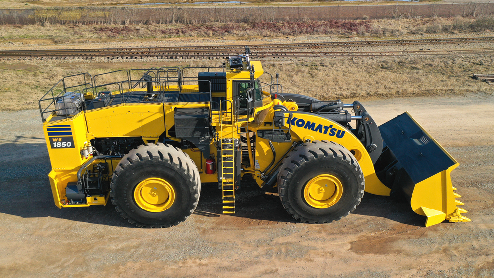 Komatsu is exhibiting an array of new equipment and technology at MINExpo.